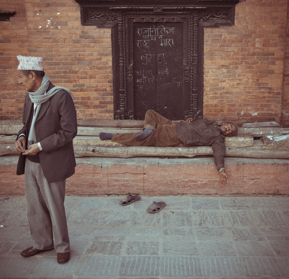 Sleepy Durbar Square