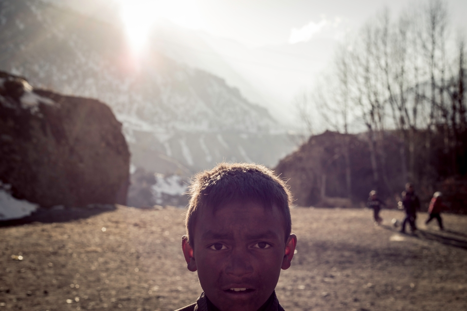 Kid from Manang