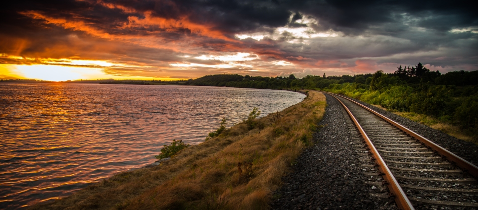 Lough Owel Sunset 02